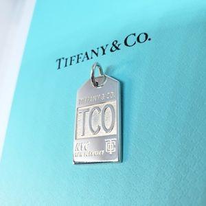 Tiffany & Co., Luggage Tag Charm